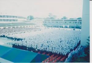Dalam kenangan tahun 2000 di Maahad al-Bi'that ad-Diniah